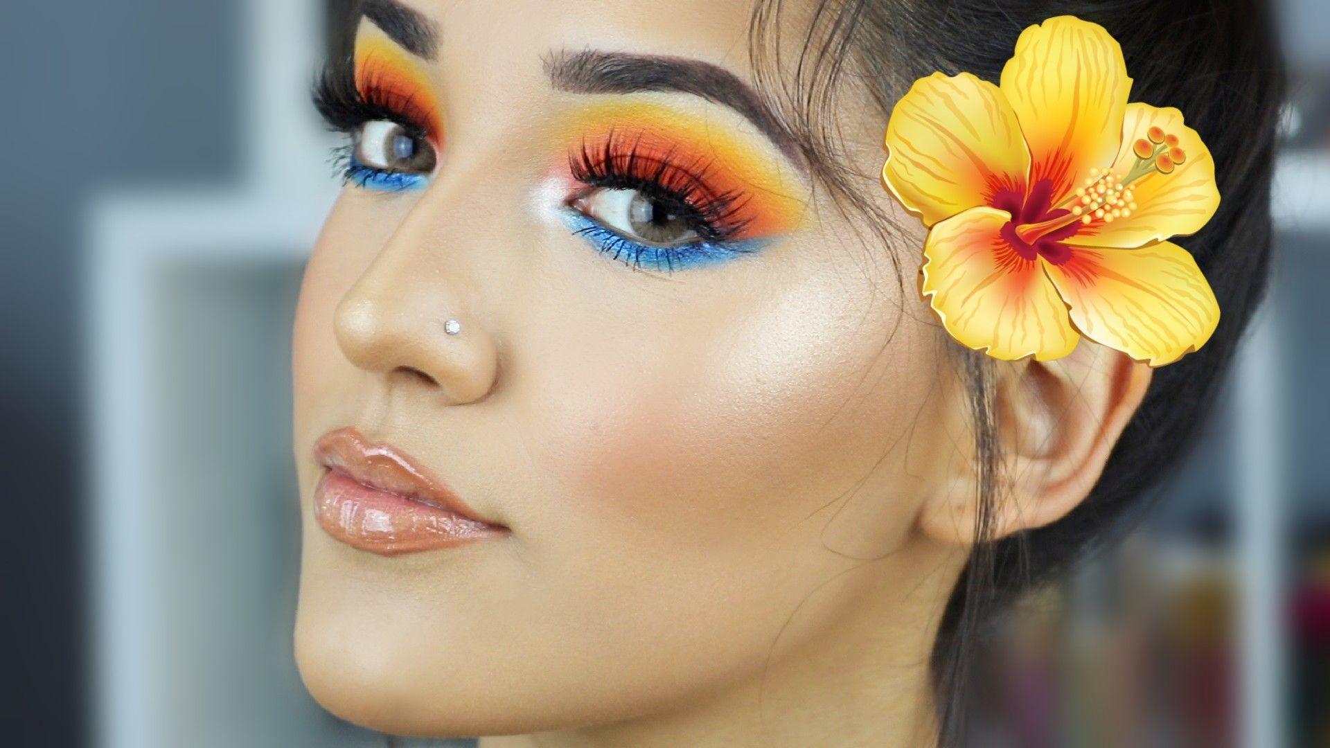GabDel2 Hawaiian Ideas, Affordable Colorful Makeup, Luau