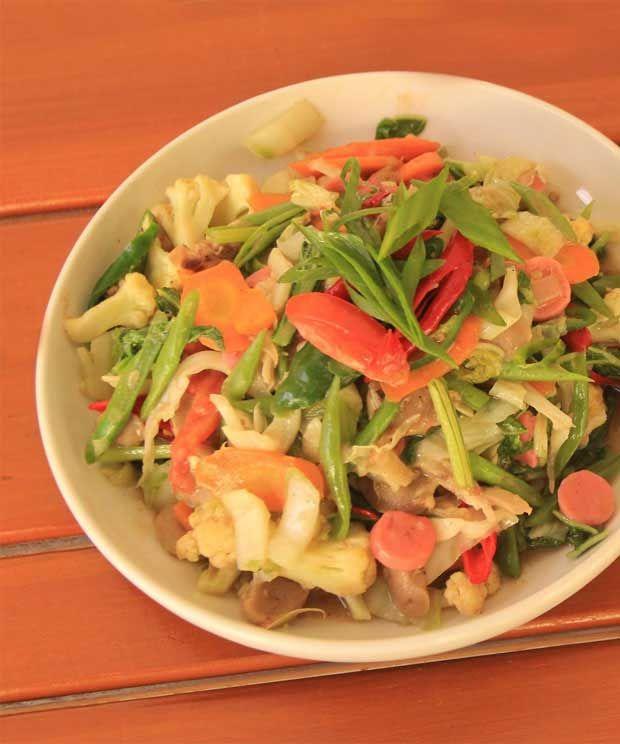 Cara Masak Capcay Goreng : masak, capcay, goreng, Resep, Sayuran,, Resep,, Masakan