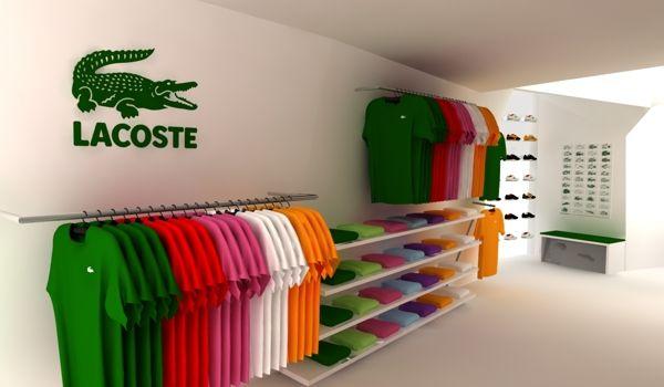 b734fd24 pop up store lacoste on Behance | BPF in 2019 | Lacoste store ...