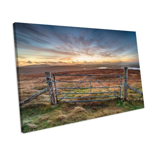 Mercury Row Leinwandbild Outer Hebrides Scotland Sunset | Wayfair.de