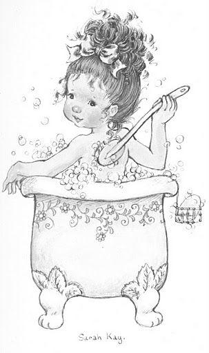 Desenhos para Colorir: Mais desenhos da Sarah Kay | Desenhos ...