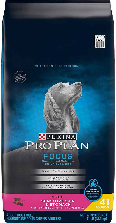 One 1 41 lb bag purina pro plan sensitive stomach dry