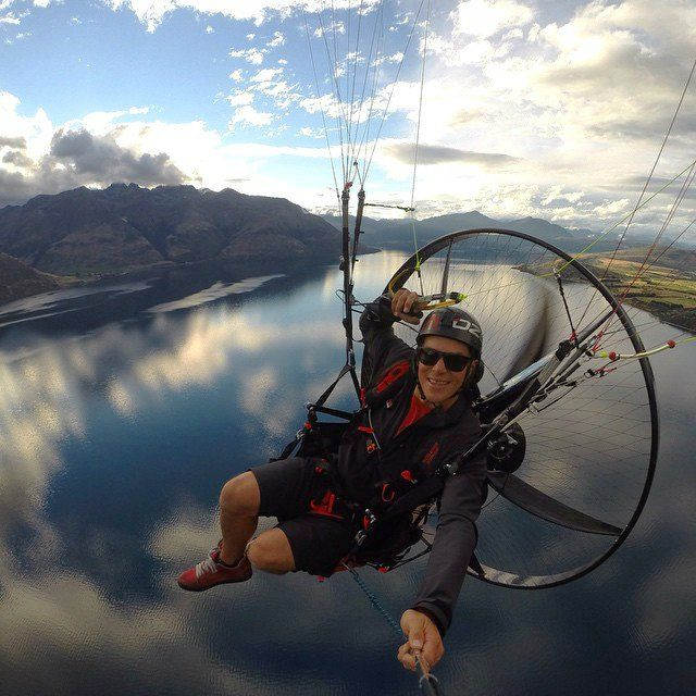 Scout Paramotor | Daily Cool Gadgets | Life is an adventure, Cool