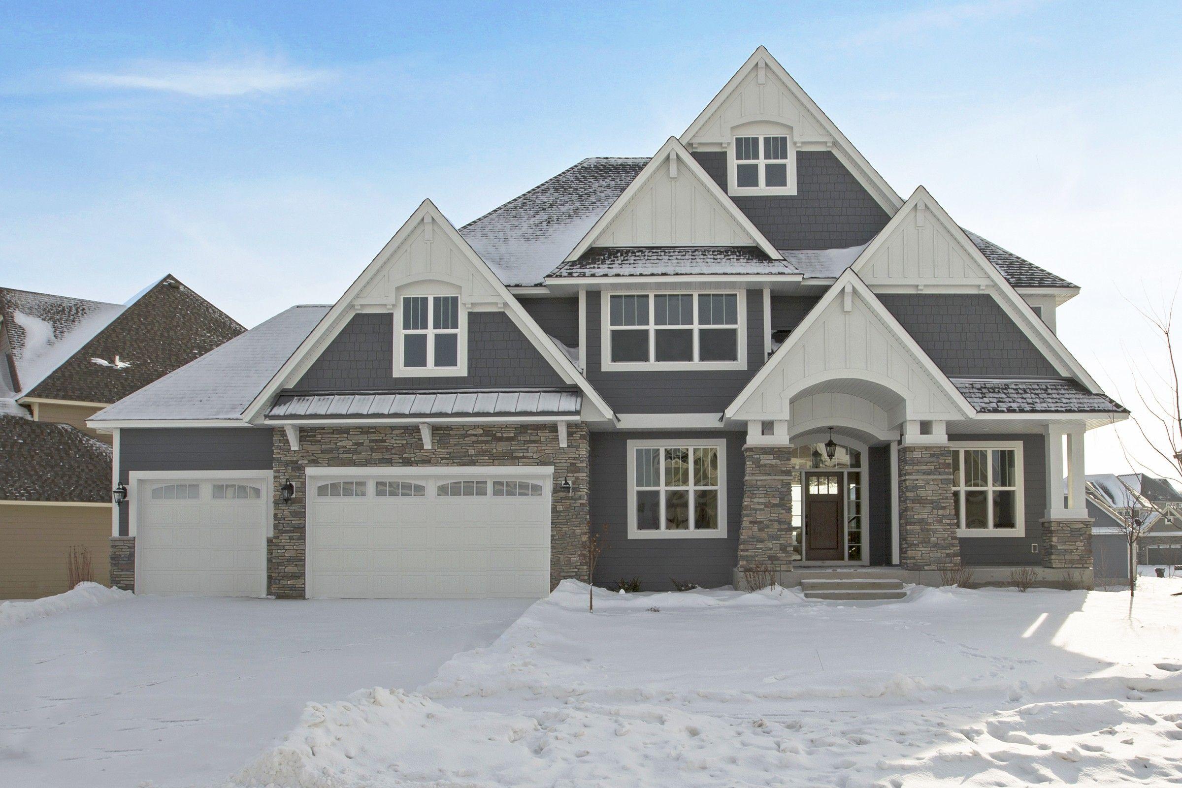 5980 Blackoaks Ln N Plymouth Mn Sold Terra Vista Gray House Exterior House Exterior House Paint Exterior