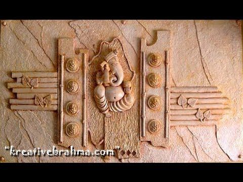 Ganesh Elevation wall mural Hyderabad (96180 66 107) Creativebrahma.com( Artist sculptor) Ravichand - YouTube