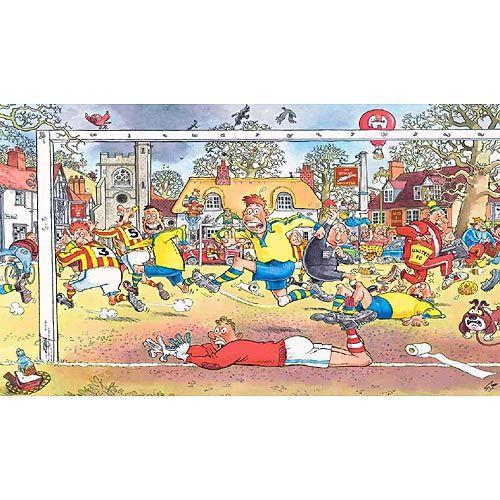 Wasgij 14 - Football Madness jigsaw puzzle