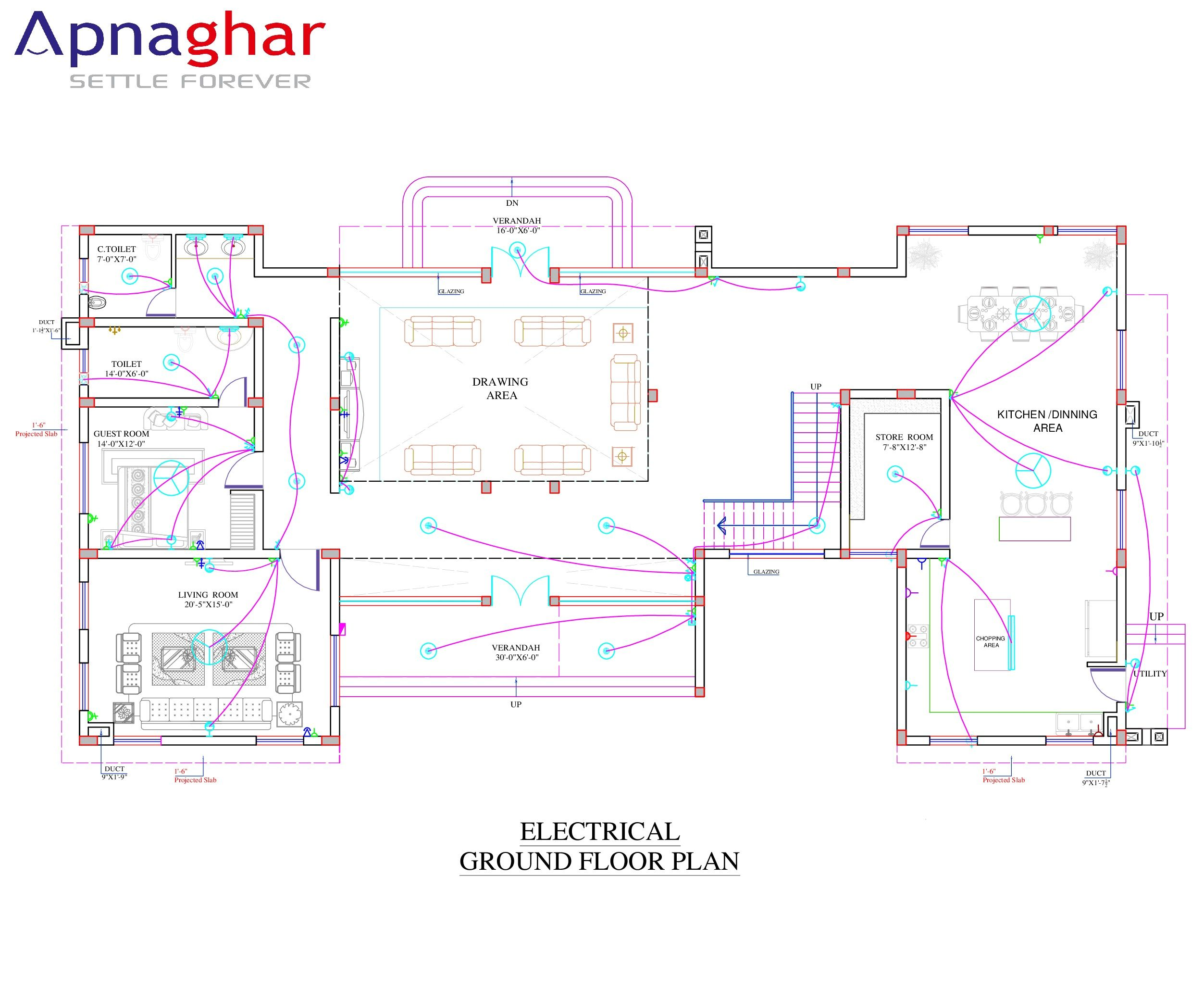 a well planned electrical layout protects your home from catching Garage Electrical Wiring Diagrams