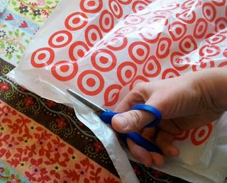 Homemade Mamas: How To Fuse Grocery Bags