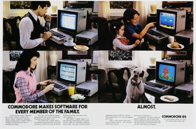 15 Hilarious Technology Ads From The 1980s Hilarious Computer History Computer