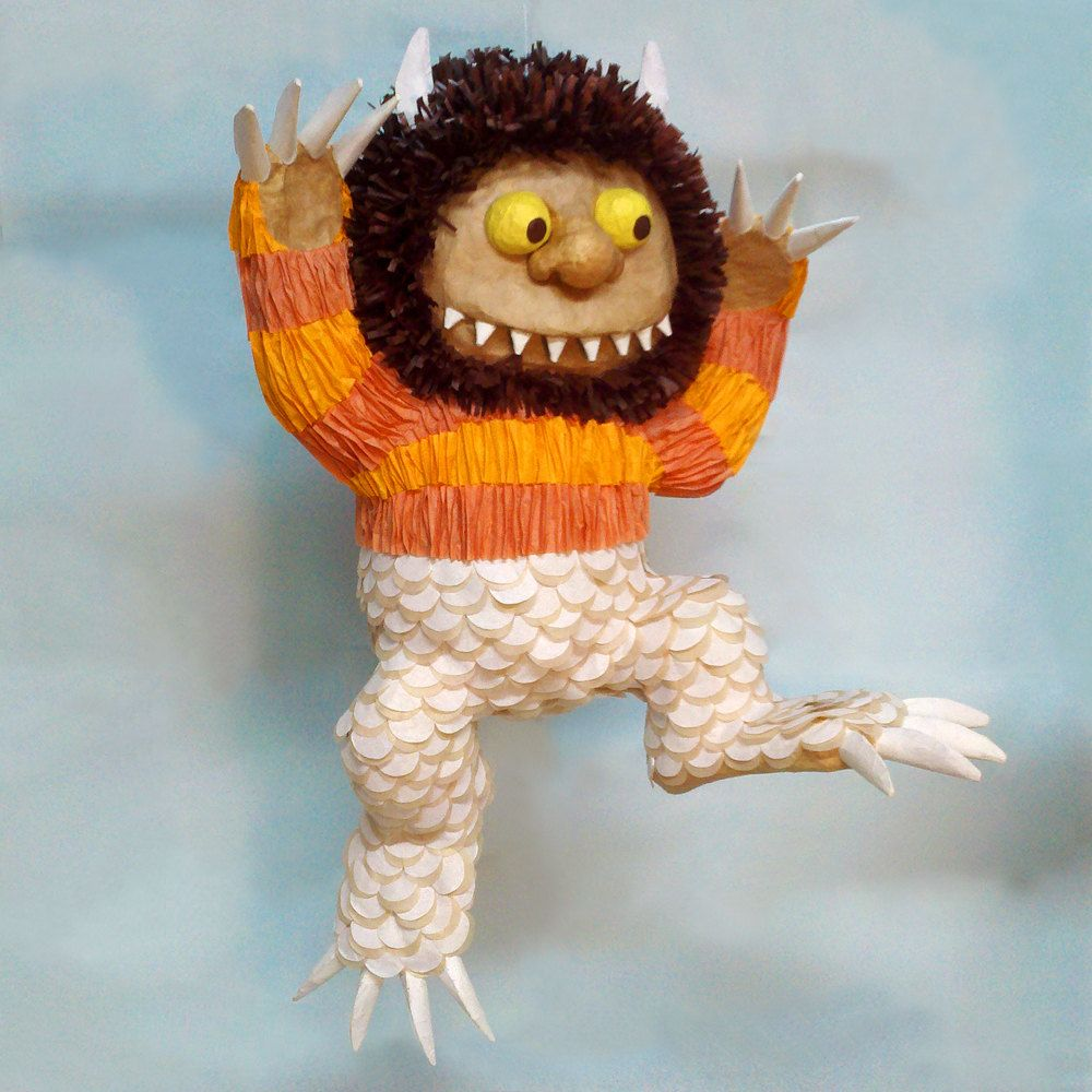 where the wild things are pinata where the wild things are party