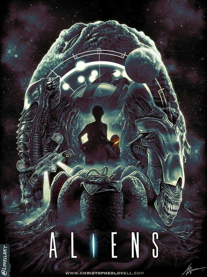 Aliens cover (1986)   Cool Stuff in 2019   Aliens 1986