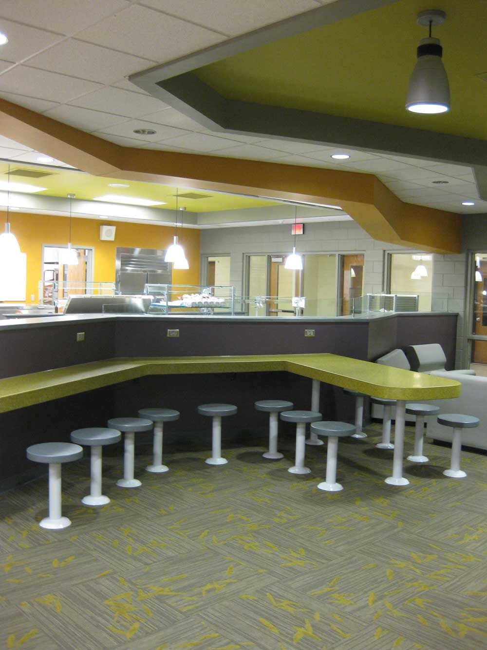 Student cafeteria amdg architects grand rapids mi for Architects grand rapids mi