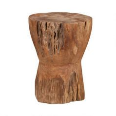 Either getting this stool or the dusty teak one - Ned Teak Stool