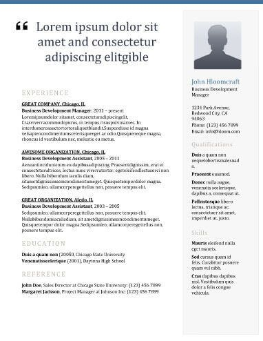 Newsletter Resume Template resume templates Pinterest Resume - free resume download template