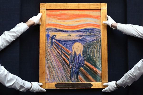 """""""The Scream"""" could fetch 200 million at auction"""