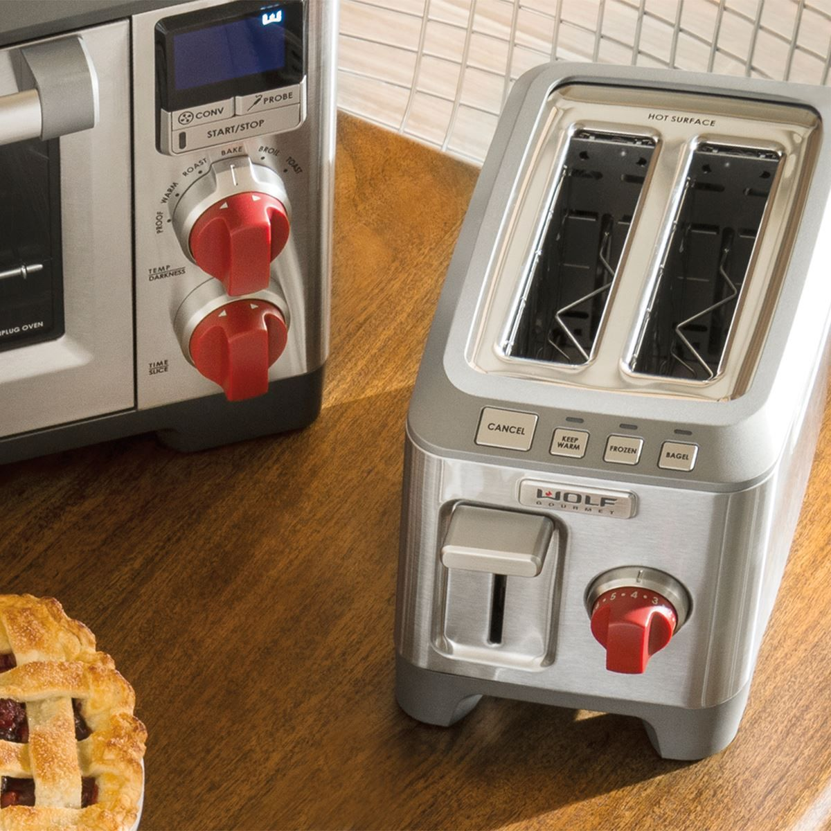 Two Slice Toaster Wolf Gourmet Toaster Countertop Appliances