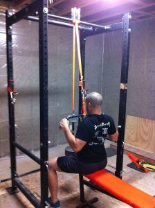 Diy Lat Pull Down Diy Home Gym At Home Gym Diy Gym Equipment