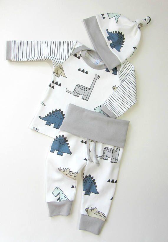 23f55b3d2 Baby boy ORGANIC winter coming home outfit-Baby dinosaurs outfit for boys-Organic  baby boy set-Toddler clothing-Newborn outfit #babyclothesnewborn # ...