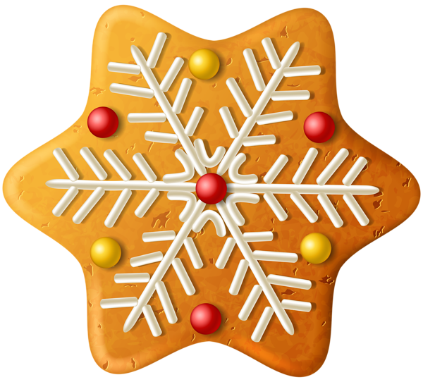 Christmas Cookie Snowflake Png Clipart Image Cute Christmas Cookies Christmas Cookies Christmas Scrapbook