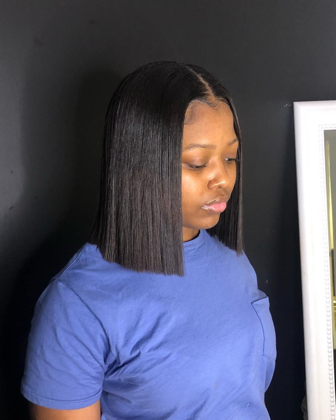 1b 99j T Color Ombre Color The Same Length Human Hair Weave Bob Hairstyles Hair Styles Bob Hairstyles