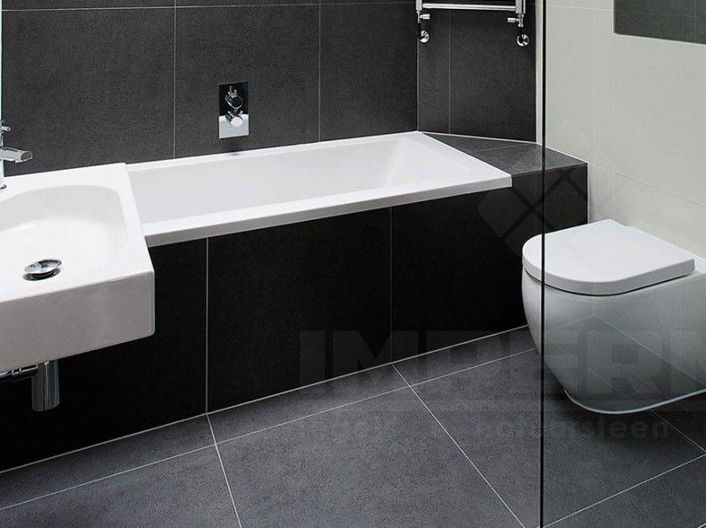 Badkamer tilestone modular design grey @impermo #impermo