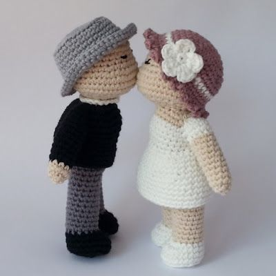 Dénoue: Bisous crocheté