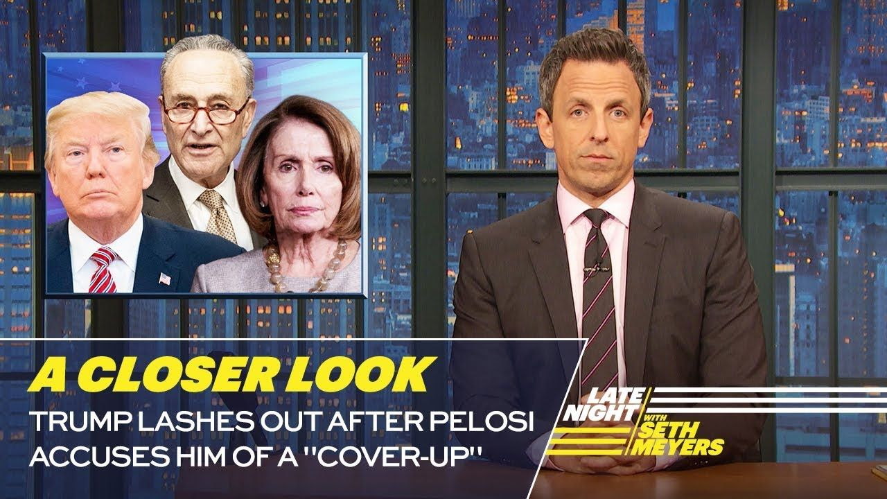 Trump Lashes Out After Pelosi Accuses Him Of A Cover Up A Closer Look Youtube How To Memorize Things Phone Interviews Trump Lies