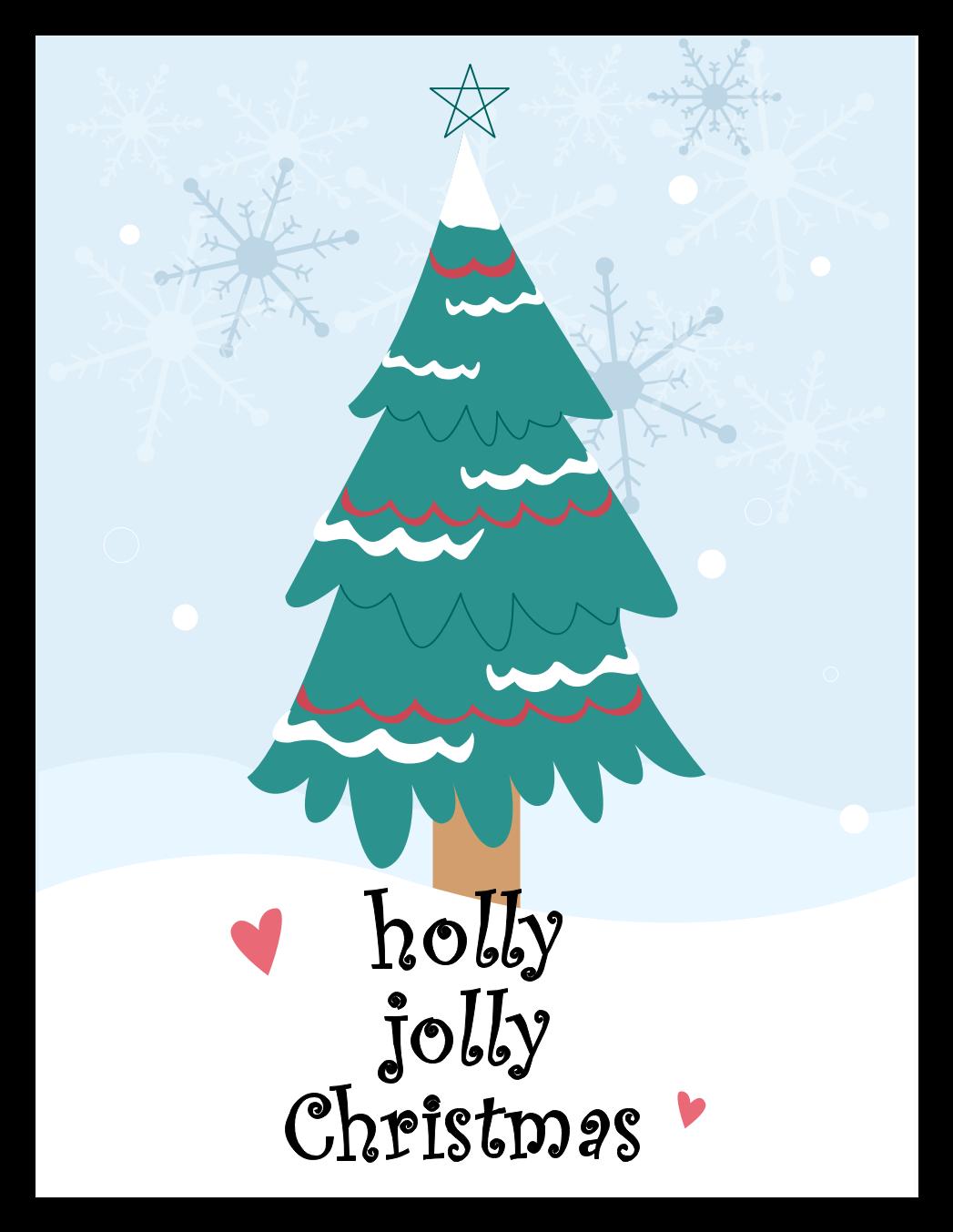 Cute Christmas Card Template Edrawmax Christmas Card Templates Free Christmas Card Template Christmas Tree Cards