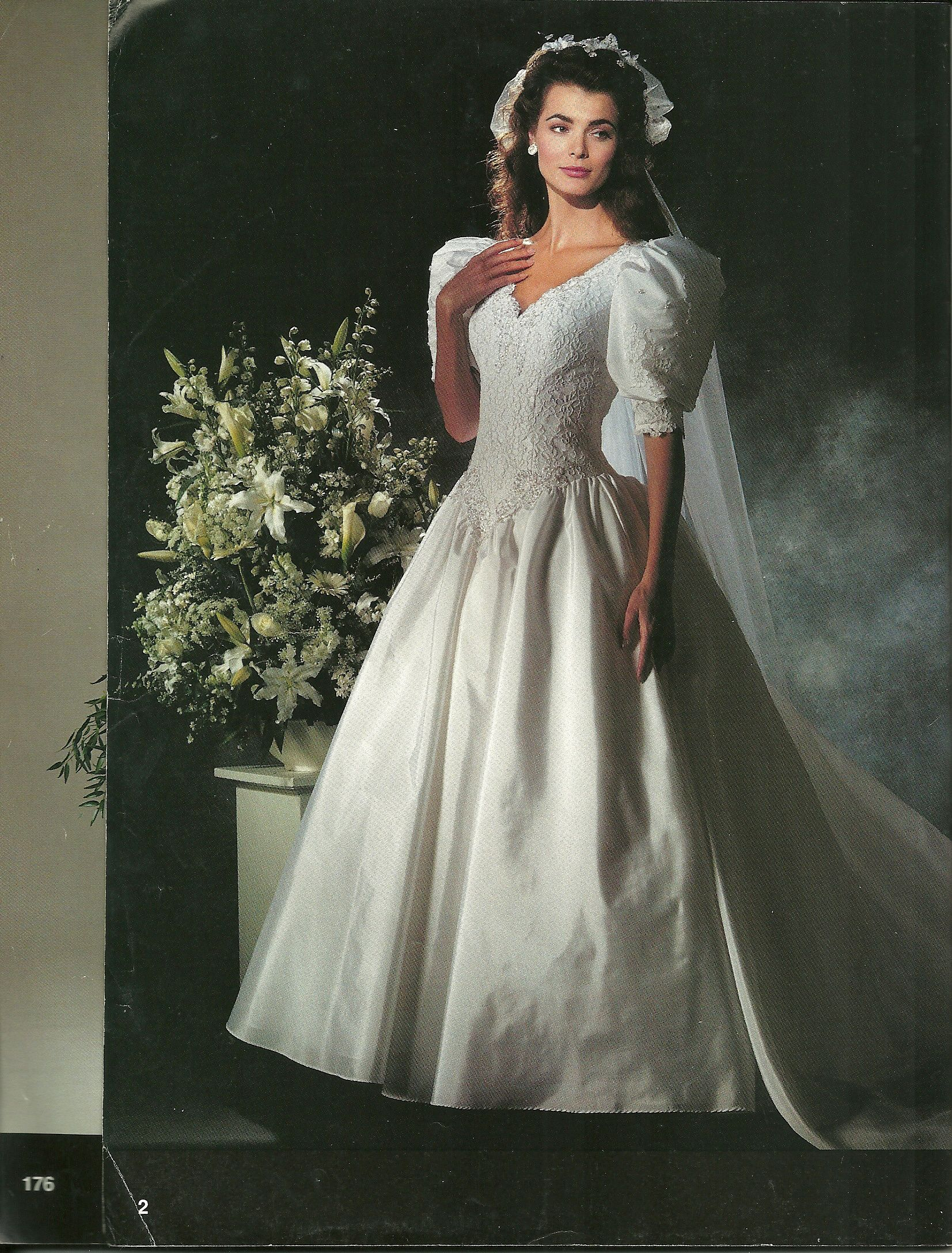 Hideous wedding dresses  A wedding dress I almost got Alfred Angelo Spring of  Dream