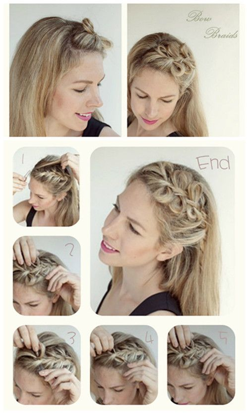 5 Diy Hair Bow Ideas And Creations Collection Hair Styles Long Hair Styles Diy Hairstyles