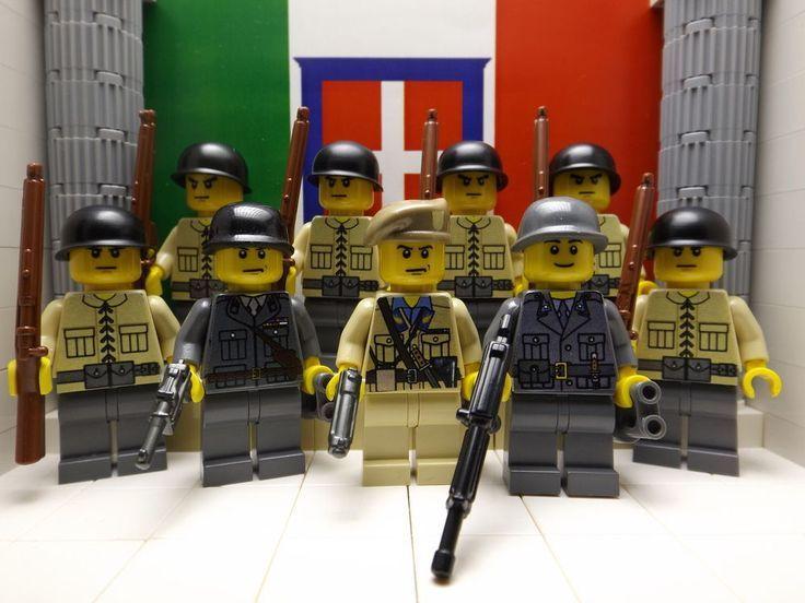 Lego italian army in ww2   Lego   Lego ww2, Lego army e Lego