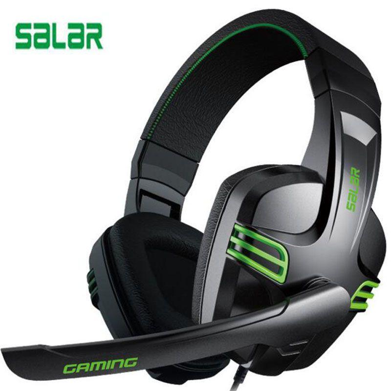 Salar kx101 Gaming Headset Wired Headphones Deep Bass