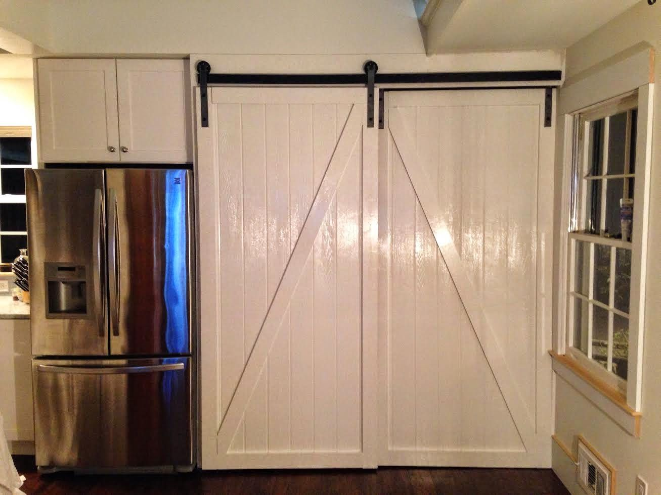 Double Barn Door Installation | Home design ideas