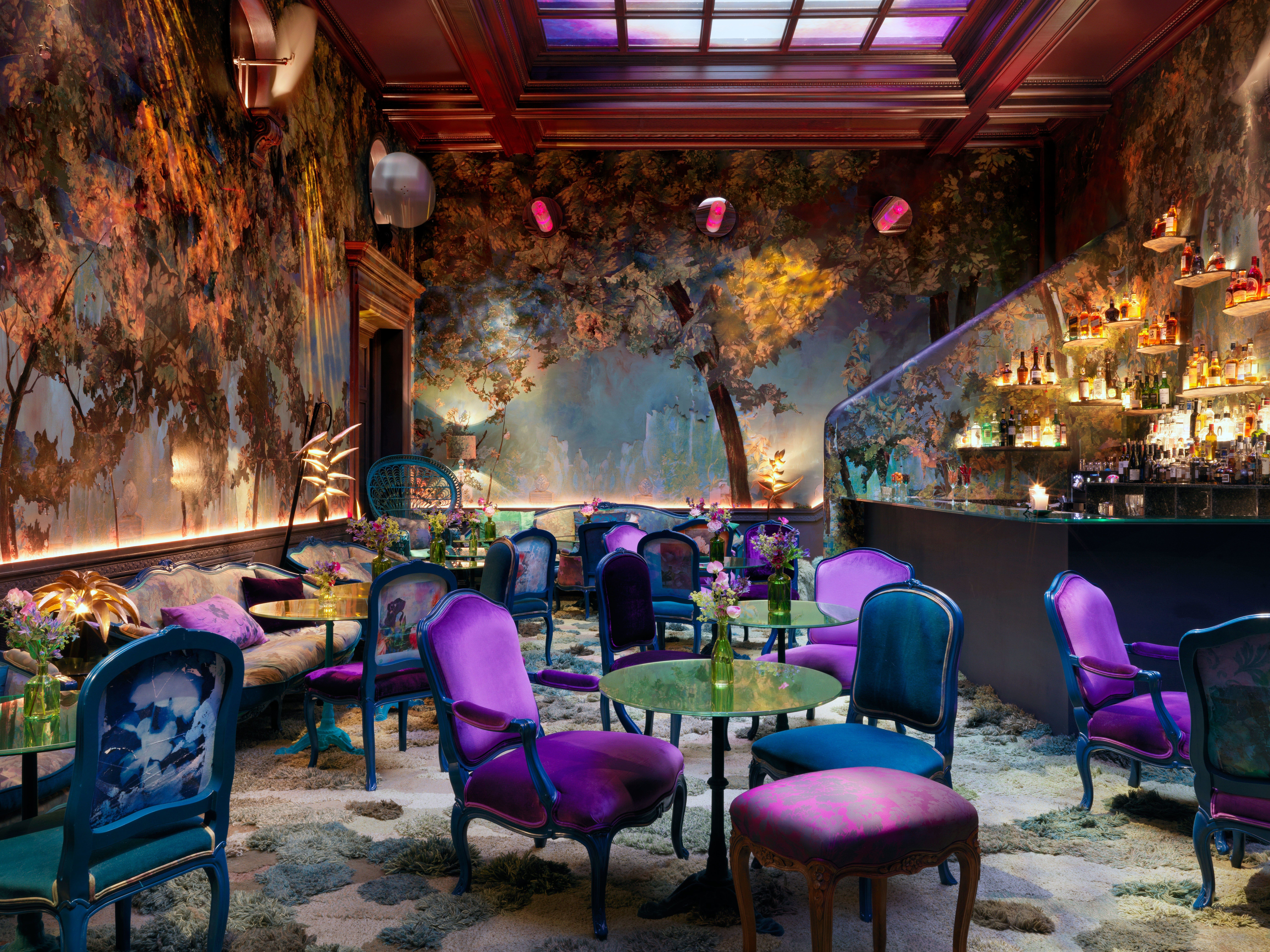 Step Inside London's Most Otherworldly New Venue is part of Restaurant design - Tucked inside Mayfair hot spot Sketch, the venue whisks visitors to a sylvan dreamscape