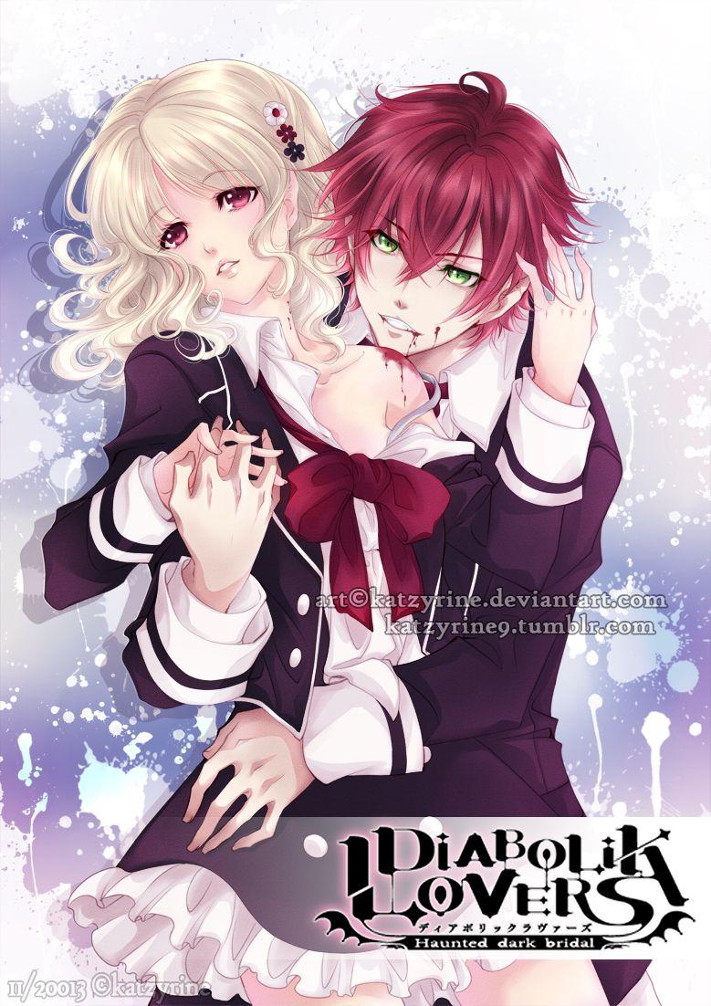 Ayato and Yui by KatzyRine deviantart com on @deviantART