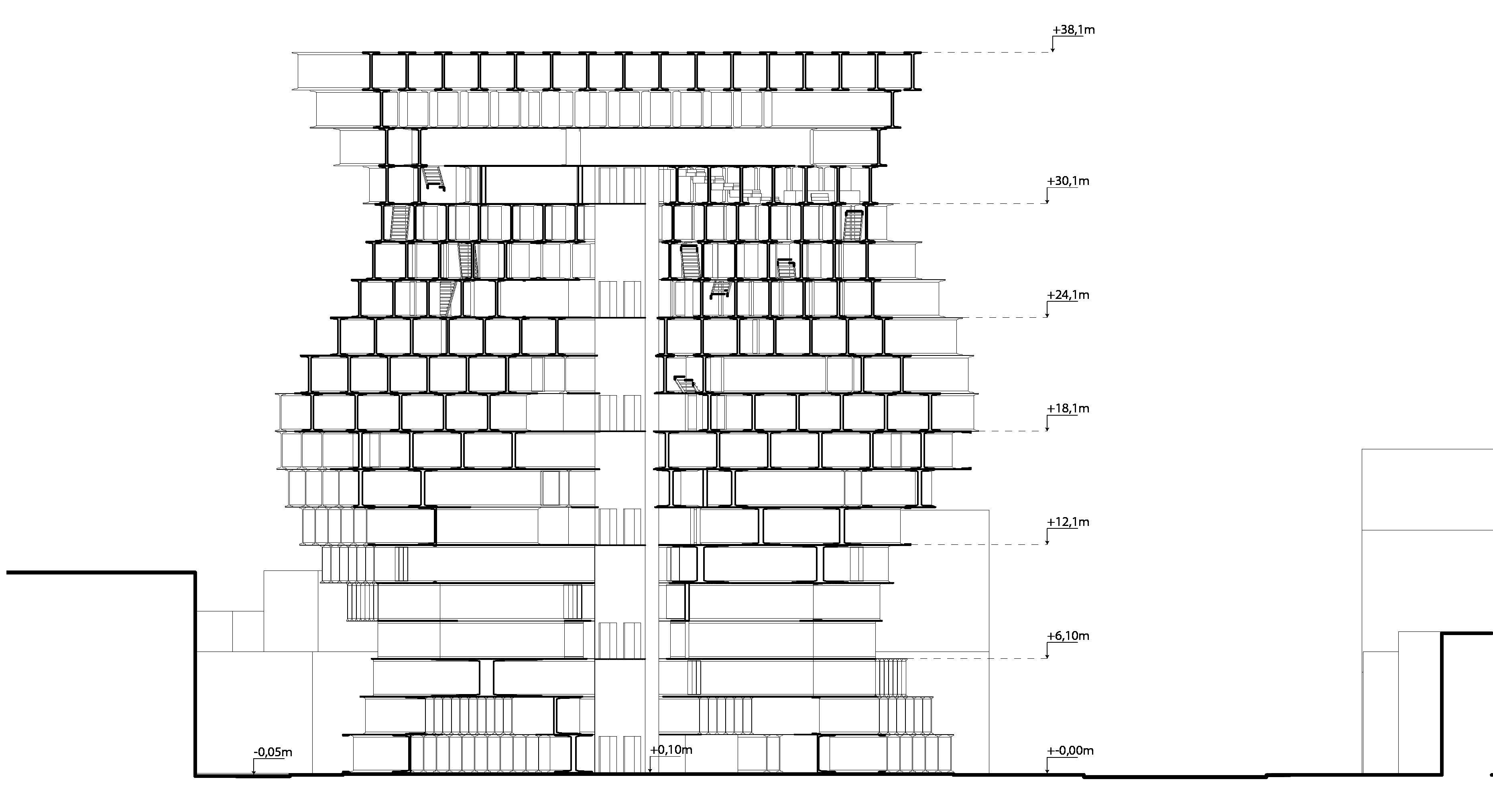 Sección (1-1)