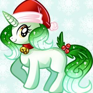 Christmas Unicorn.Christmas Unicorn Kawaii Unicorn In 2019 Christmas