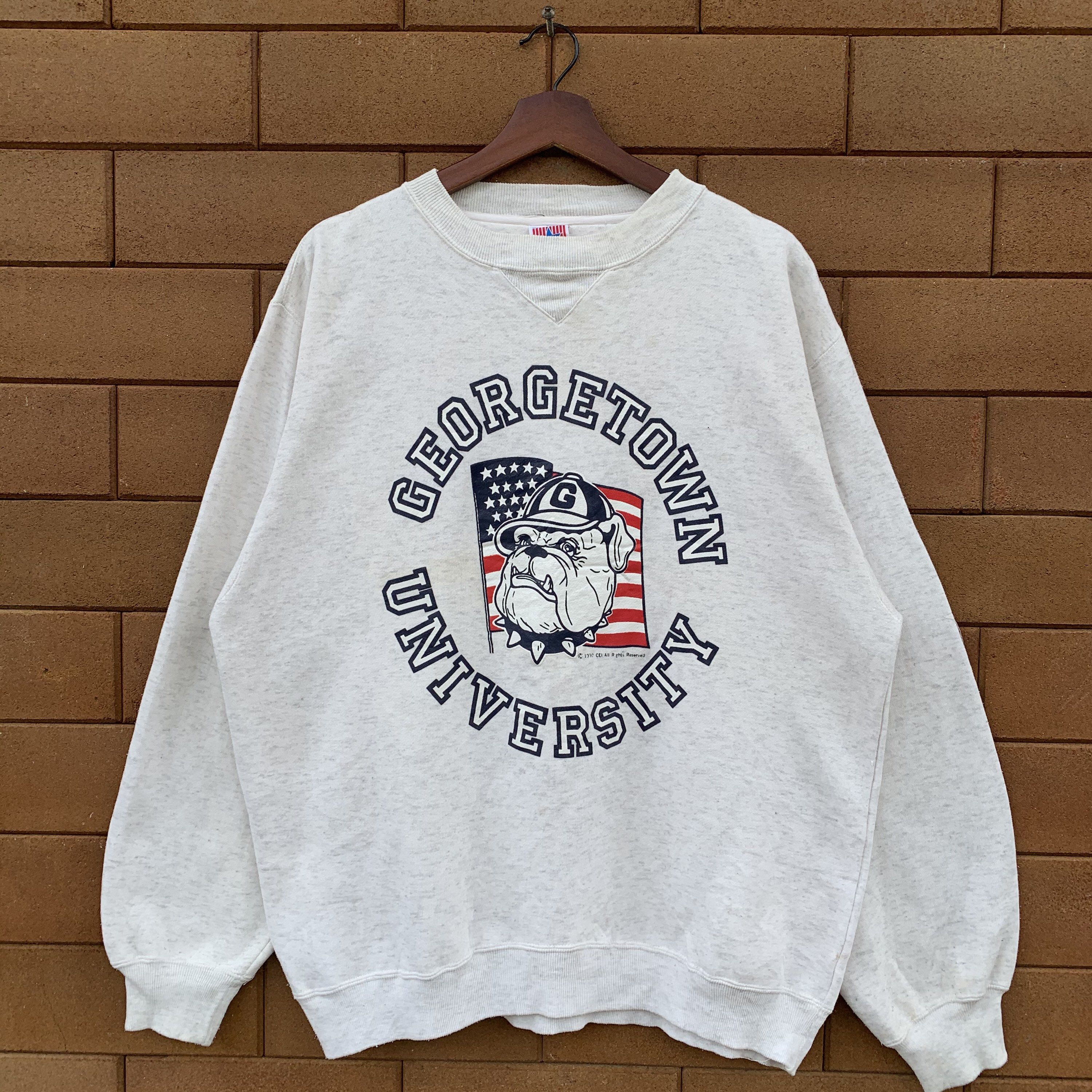 Excited To Share This Item From My Etsy Shop Vintage 90 S Georgetown University Sweatshirt Vintage College Sweatshirts Vintage Sweatshirt Sweatshirt Designs [ 3000 x 3000 Pixel ]