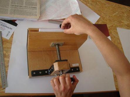 Afbeeldingsresultaat voor prensa manual em madeira