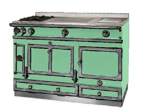 Blocco cucina elettrico / a gas / in acciaio inox GRAND CHÂTELET 135 ...