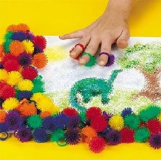 Painting with hedge ball rings