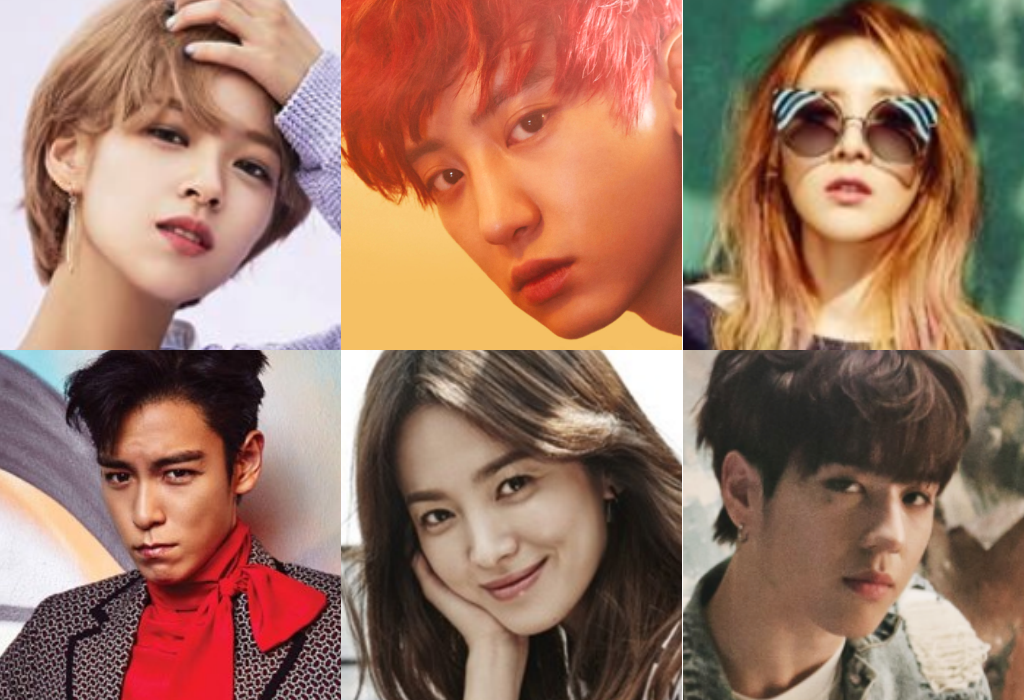 Which K Pop Star Shares Your November Birthday Via Soompi K Pop Star November Birthday Pop
