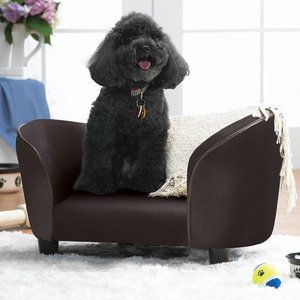 Enchanted Home Pet Snuggle Dog Sofa $90 walmart