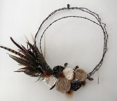 Barbed Wire Wreath - Bargain Cache LLC | Scott's Marketplace