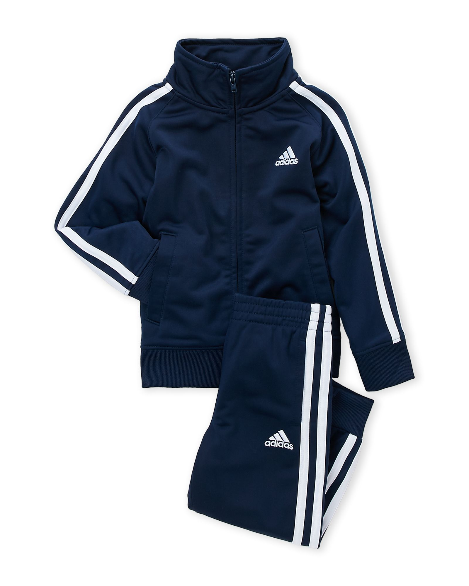 avance detrás Arte  Adidas (Boys 4-7) Two-Piece Navy Classic Tricot Tracksuit | Tracksuit,  Toddler jacket, Adidas tracksuit