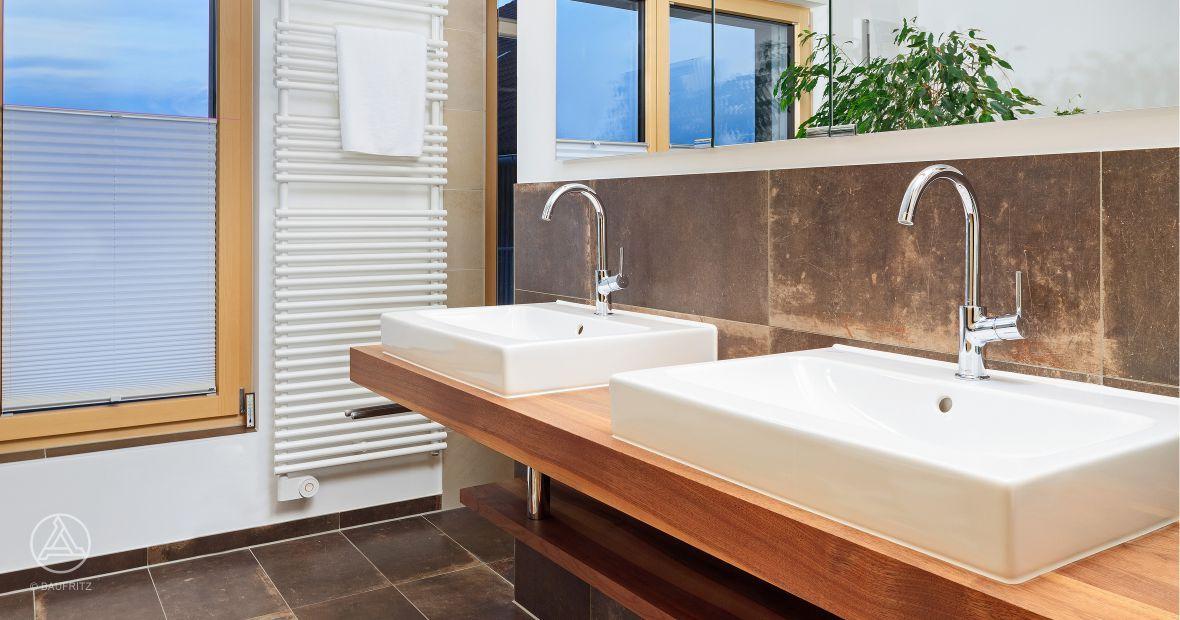 Naturstein badezimmer ~ Naturstein fliesen im badezimmer vom baufritz anbau fasel anbau