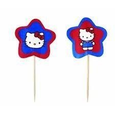 Picks Cupcakes en papel