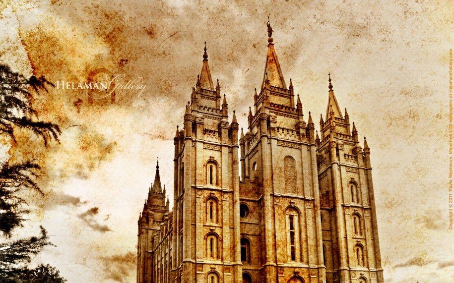 Utah SaltLake3 Sepia Temple Wallpaper Free Pictures