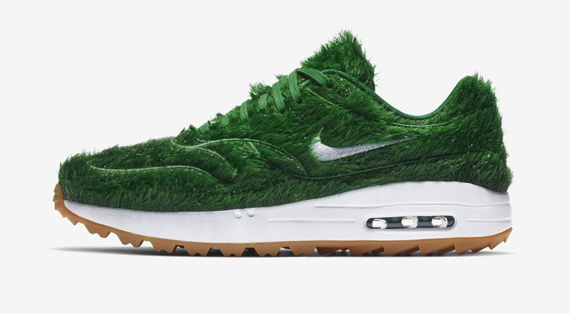 Nike Unveils Green Grass Sneaker With Latest Air Max 1 Golf Shoe Iteration Nike Shoes Air Max Nike Shoes Girls Best Golf Shoes
