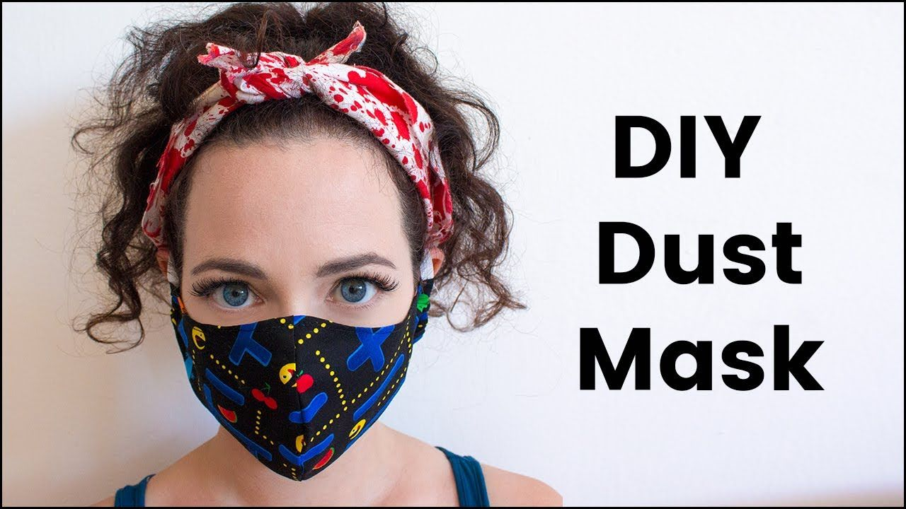 DIY Dust Mask for Burning Man Diy face mask, Homemade